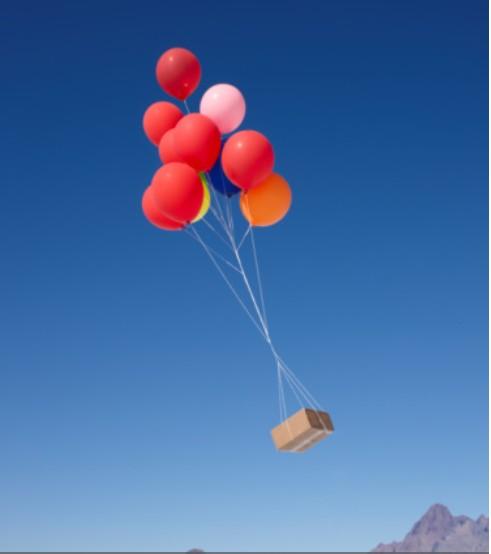 colis ballon