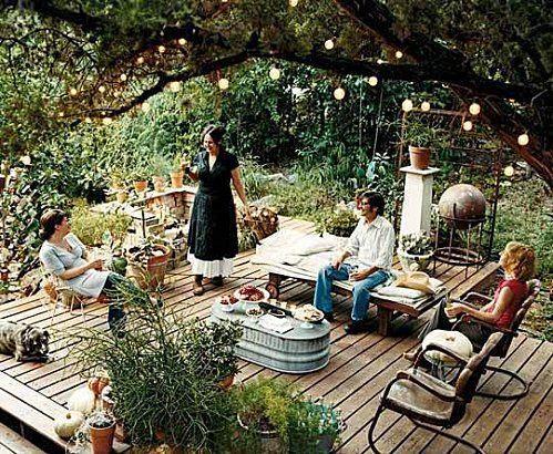 Aménager son jardin pour recevoir des amis