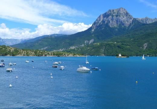 Le lac de Serre-Ponçon : un paradis nature !