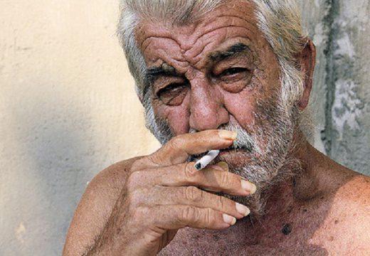Vieillesse et tabac