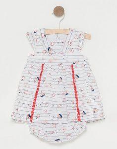 Robe pour bébé fille avec bloomer